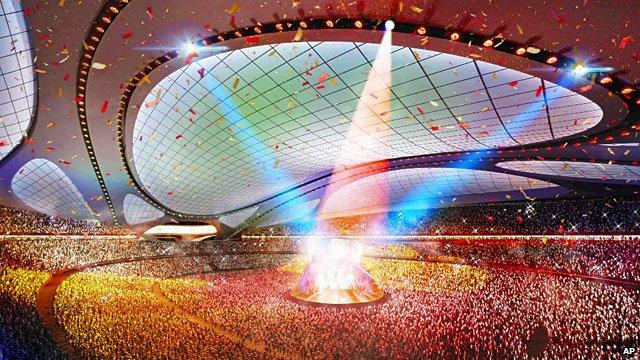 TV technology 2020 Olympics
