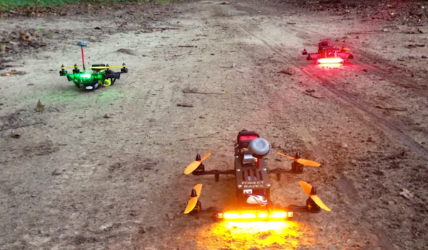 What FPV Racing Looks Like Quadcopters POV