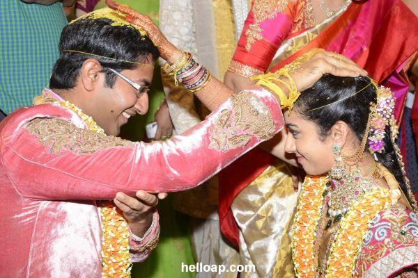 Nandamuri Tejaswini And Sri Bharath Wedding