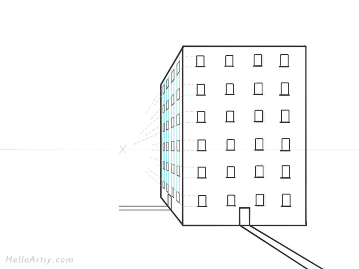 One Point Perspective Drawing: Step by Step Guide for