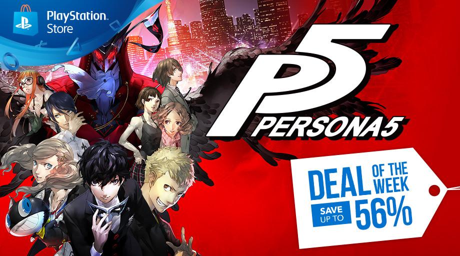 Persona 5 PS Plus
