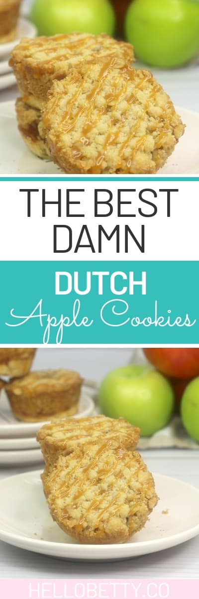 Looking for the best dutch apple cookies recipes? You have found it. This is simple to make and a wonderful treat for the fall and holiday season. #apple #dutchapple #cookies
