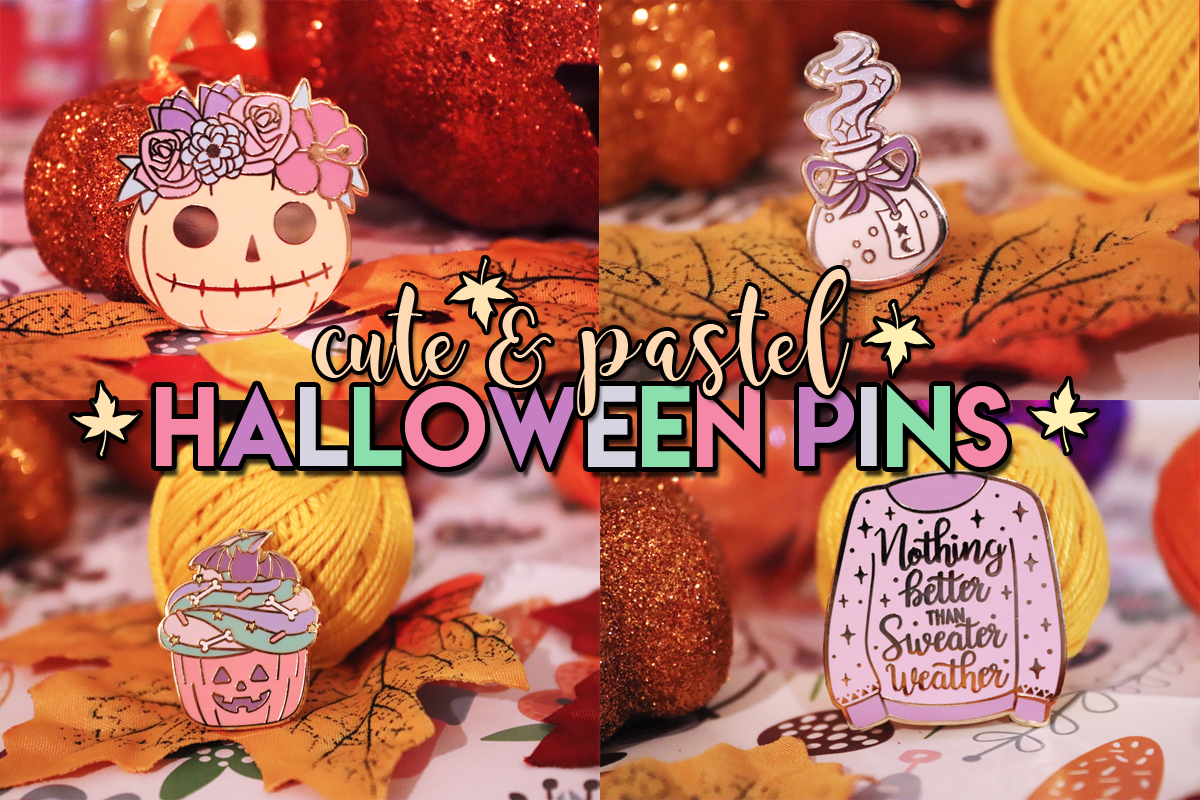 Cute & Pastel Halloween Pins
