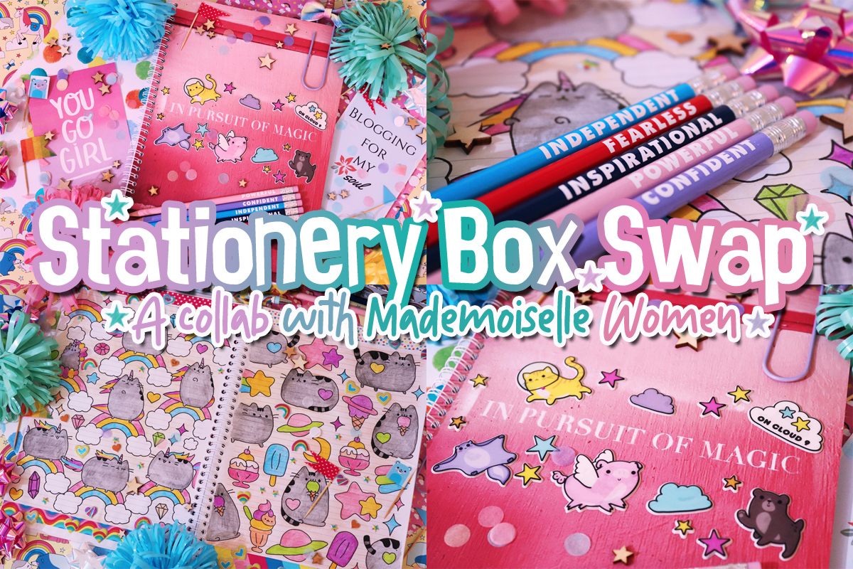 Stationery Box Swap: A Collab With Mademoiselle Women
