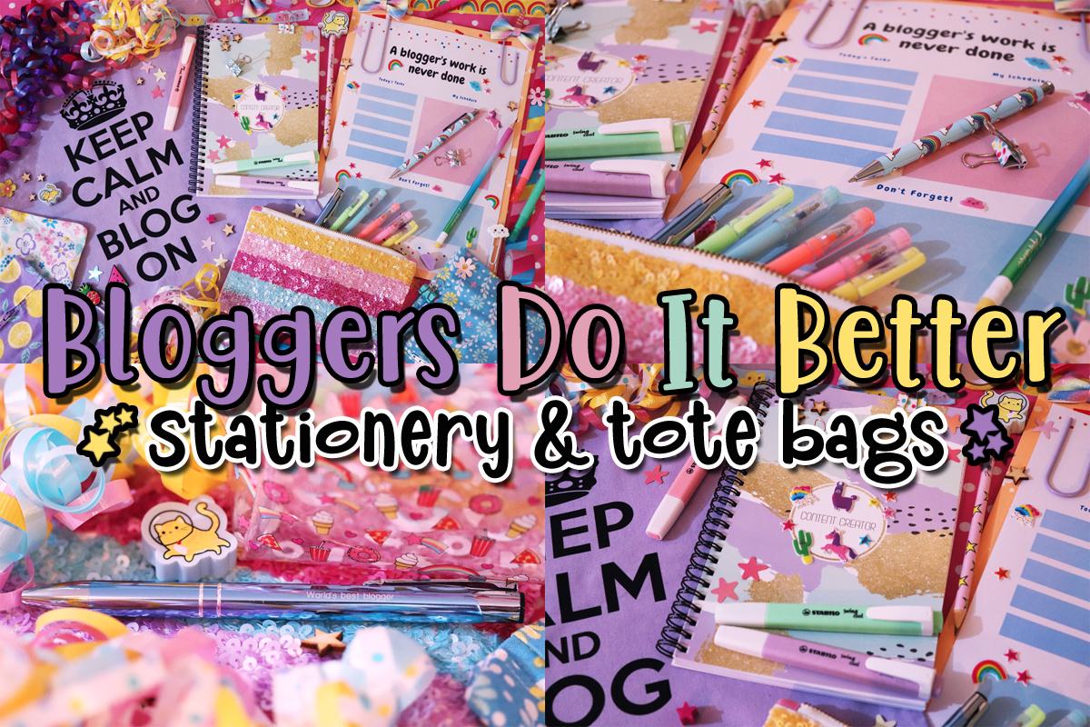 Bloggers Do It Better: Stationery & Tote Bags