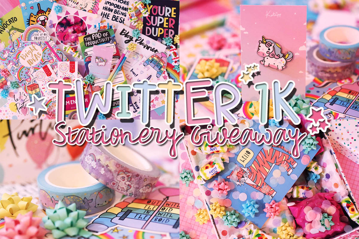 Twitter 1K Stationery Giveaway