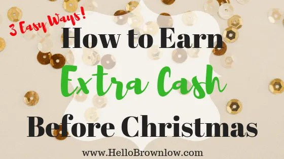 How to Earn Extra Cash Before Christmas