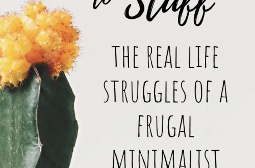 I'm Amanda and I Have a Stuff Addiction - the struggles of a frugal minimalist. #minimalism #frugalliving