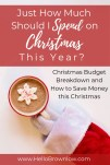 Just how much should I spend on Christmas this year?