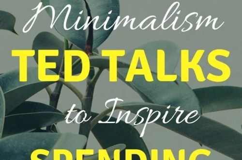 10 Minimalism TED Talks to Inspire Spending Less