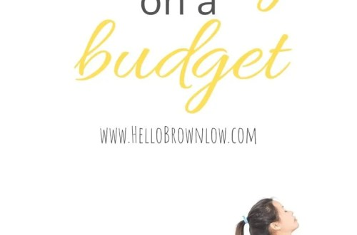 How to Be Healthy on a Budget - frugal tips to be healthy in 2020! #frugalliving #healthyonabudget #budgettips #getfit2020