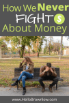 How We Never Fight About Money