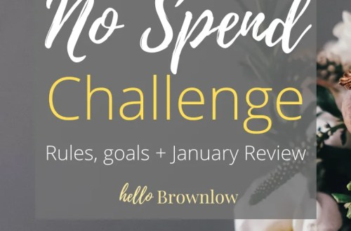 2020 No Spend Challenge - January Review #nospendchallenge #nospend #shoppingban