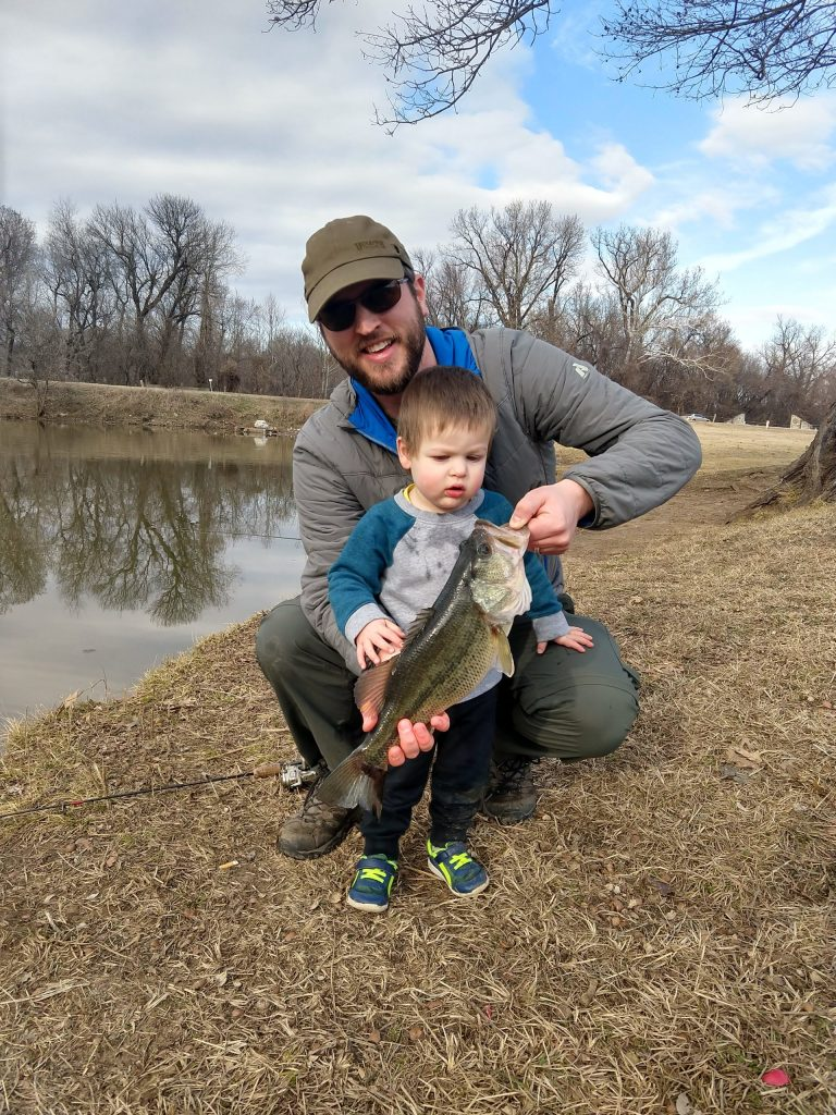 No Spend February Activity - fishing! #nospend @hellobrownlow
