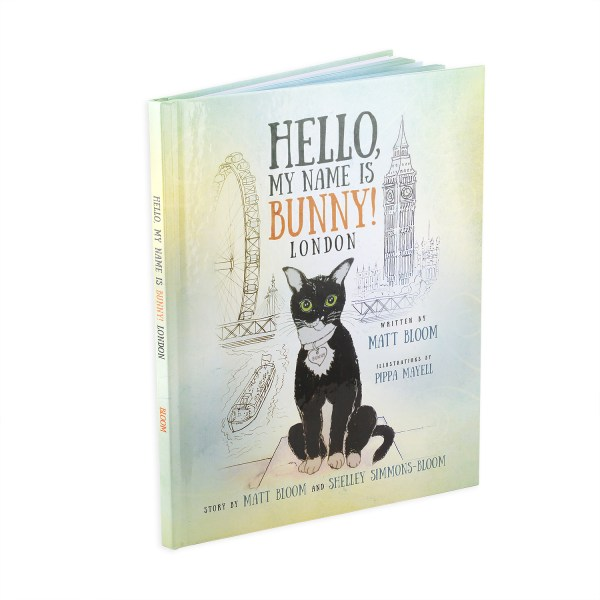 Hello, My Name is Bunny! London, the second book in the Hello, My Name is Bunny! book series