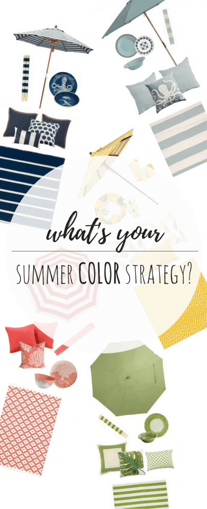 OUTDOORS-What's Your Summer Color Strategy?