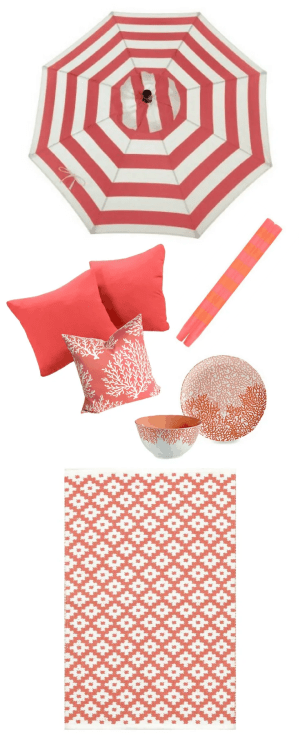 Coral Outdoor Color Strategy