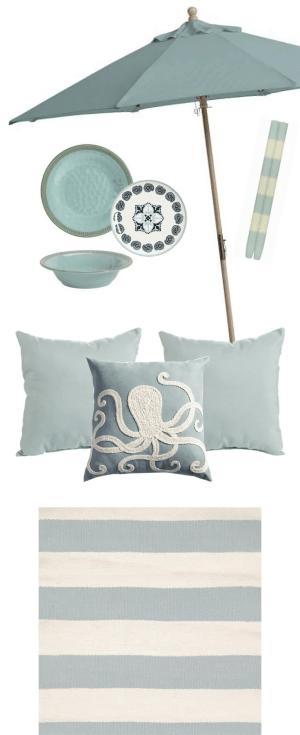 Seafoam Blue Outdoor Color Strategy