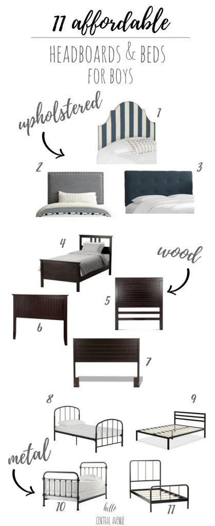 11 Affordable Headboards & Beds for Boys!