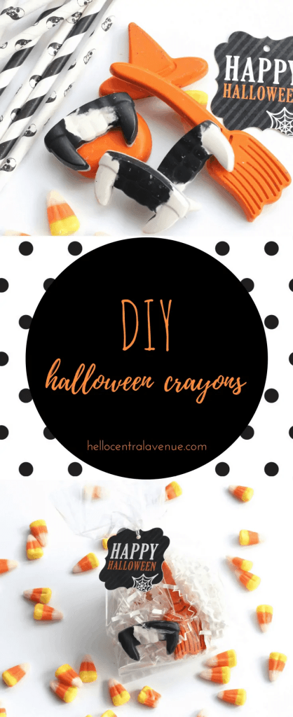 DIY-Halloween Crayons
