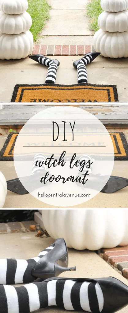 DIY-The Wicked Witch of West Central Avenue Doormat