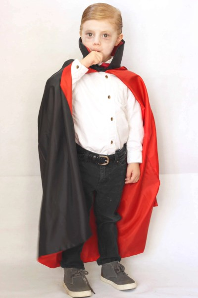 EASY and CHEAP KIds Vampire Halloween Costume