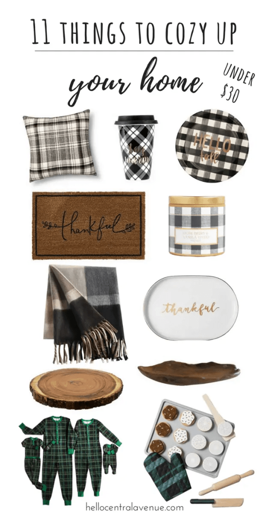 11 Things to Cozy Up Your Home
