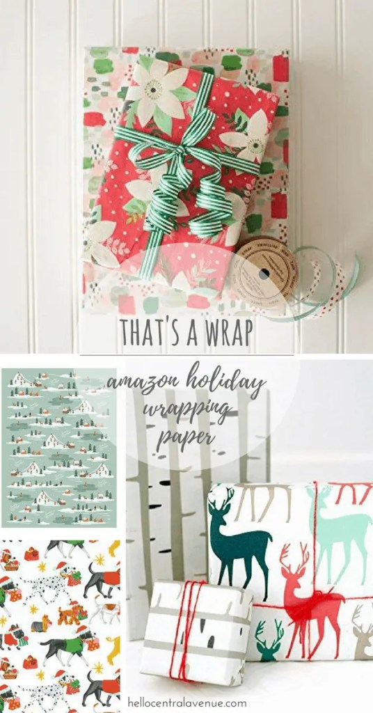 That's a Wrap: Holiday Wrapping Paper from Amazon