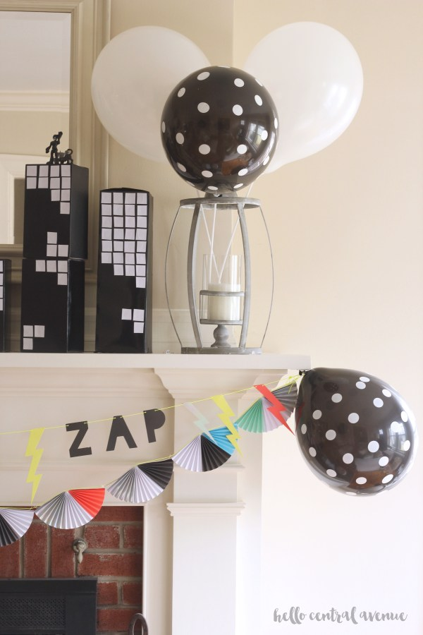 Easy and inexpensive superhero party