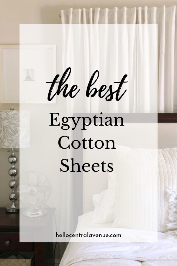 The best Egyptian cotton sheets come from certified Egyptian cotton and adhere to strict standards that allow for silky smooth and durable sheets! You'll feel like you are sleeping in a five star hotel...until the kids come in!