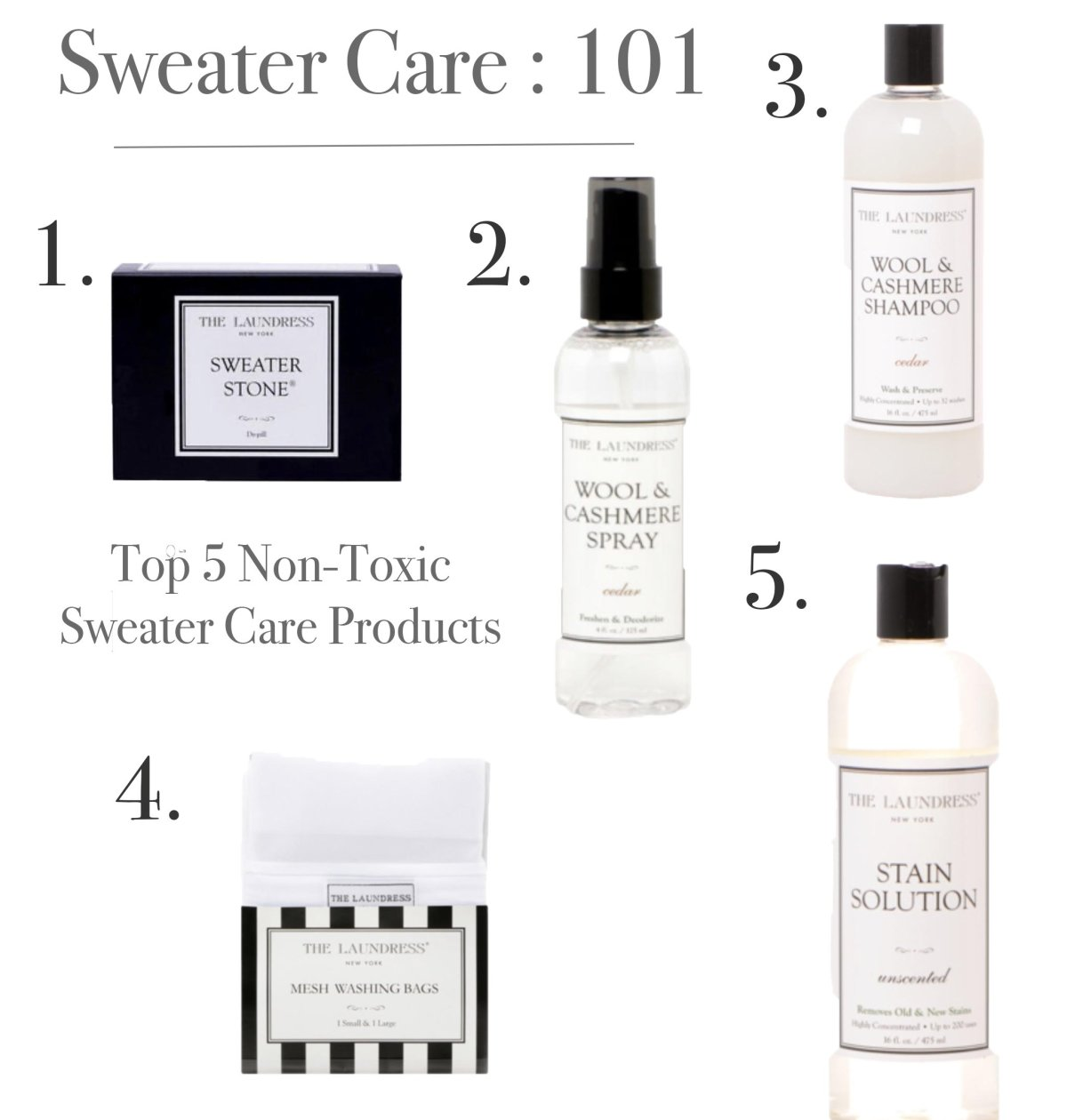 Sweater Care With The Laundress