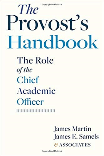 The Provost's Handbook: The Role of the Chief Academic Officer