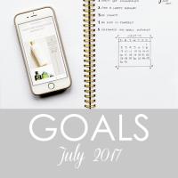 goals - July 2017