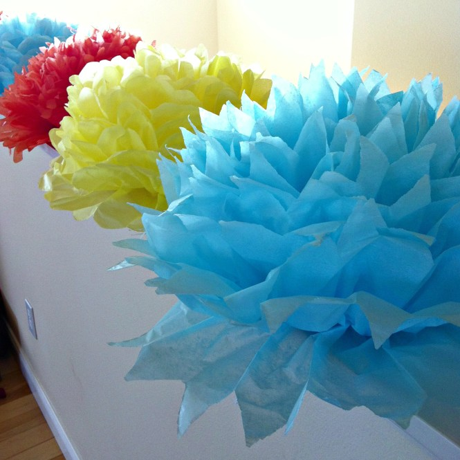 Diy Giant Handmade Tissue Paper Flowers Tutorial 2 For 1 00 Make Beautiful Birthday Party Decorations Final