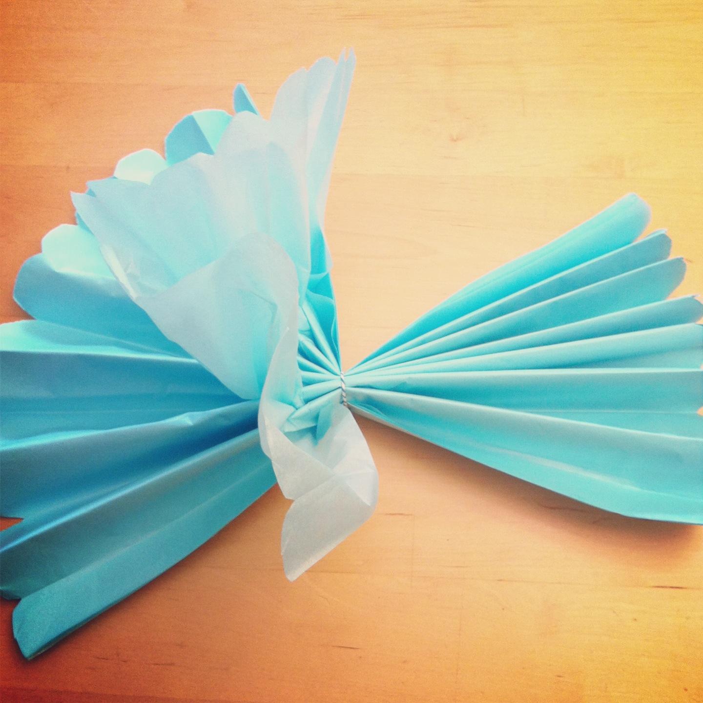 Easy Diy Tissue Paper Decorations Vtwctr
