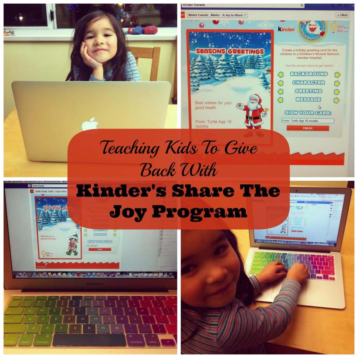 Teaching Kids To Give Back With Kinder S Share The Joy
