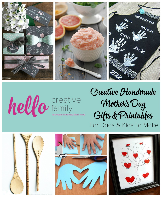 creative handmade mothers day