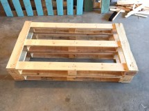 Diy Dads Outdoor Pallet Couch Weekend Project
