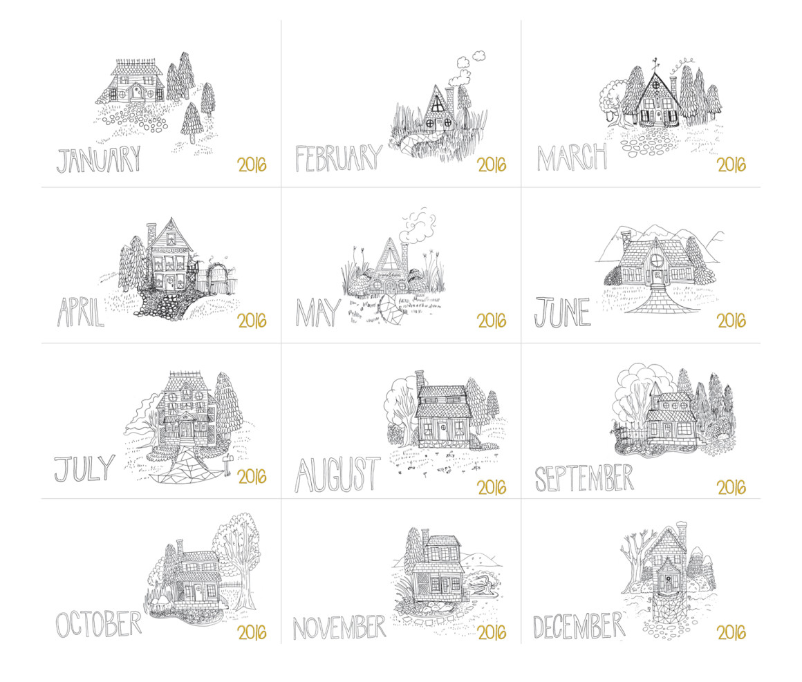 Hello Creative Family S Adult Coloring Calendar