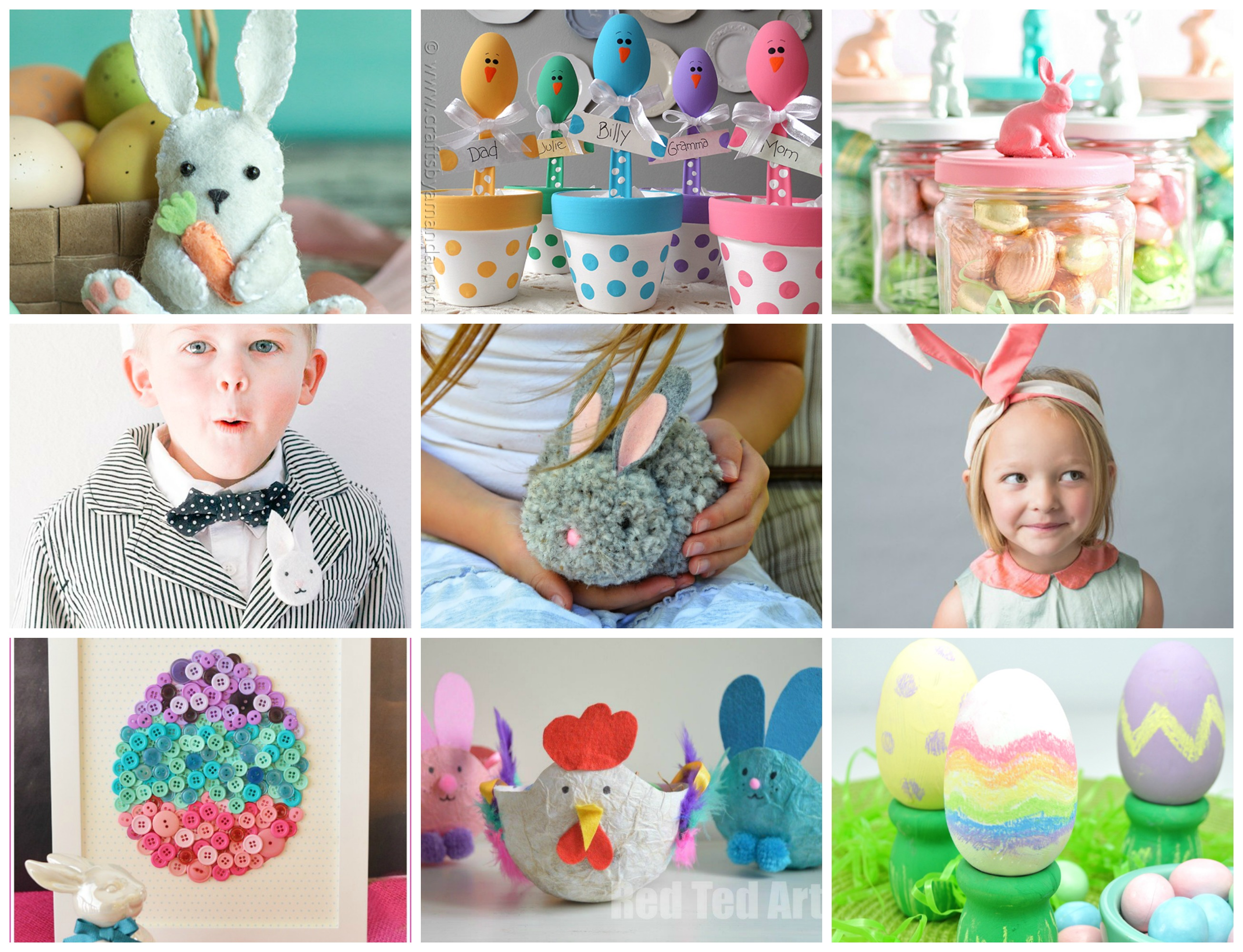 27 Family Friendly Spring And Easter Craft Ideas Hello Creative Family