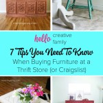 Buying Furniture At A Thrift Store Or Craigslist 7 Tips