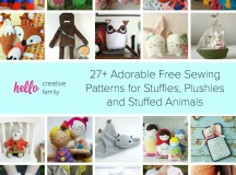 27+ Adorable Free Sewing Patterns for Stuffies, Plushies ...