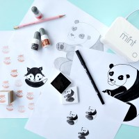 Giveaway + How To Turn Your Drawings Into Rubber Stamps With The Silhouette Mint