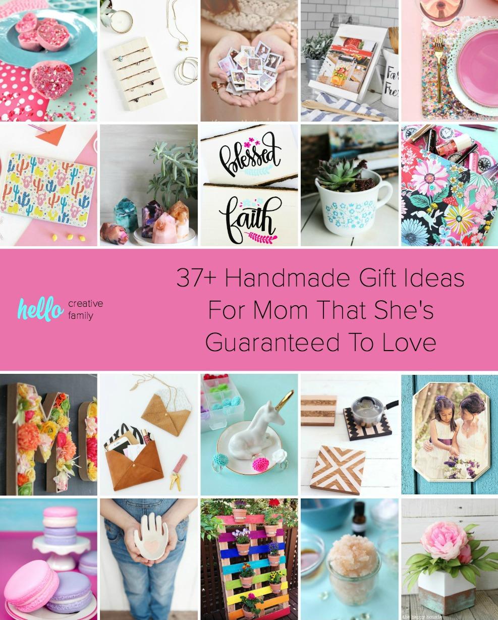 37 handmade gift ideas
