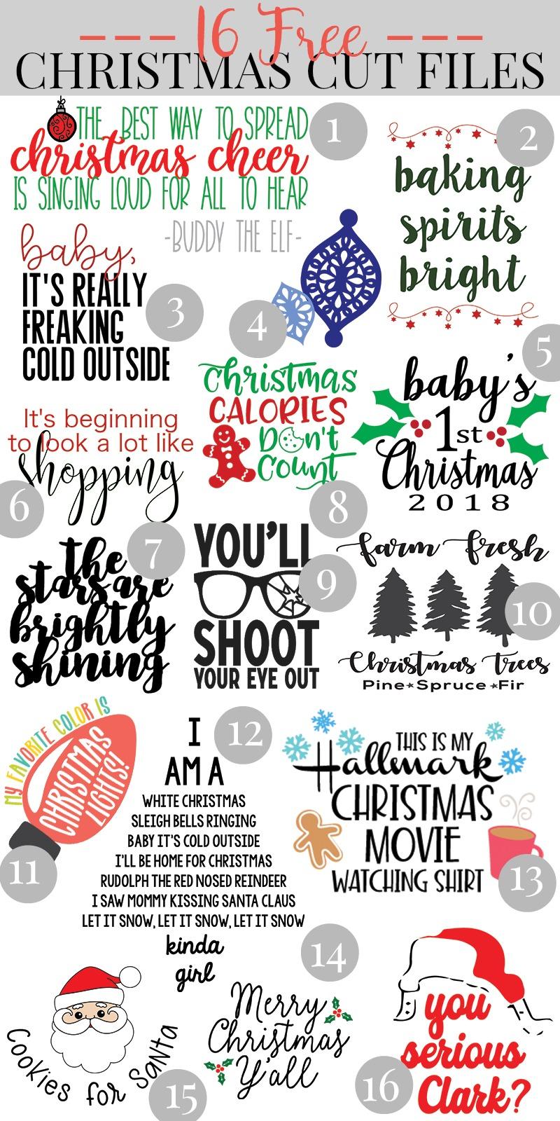 Free Christmas Svg Cutting Files : christmas, cutting, files, Christmas, Files, Cricut, EasyPress, Review
