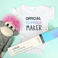 Cricut Infusible Ink Giveaway + Adorable Baby Onesie Instructions