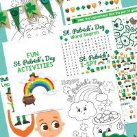 Free St Patricks Day Printable Activity Pack For Kids