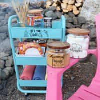 DIY Smores Cart Made With The Cricut Joy