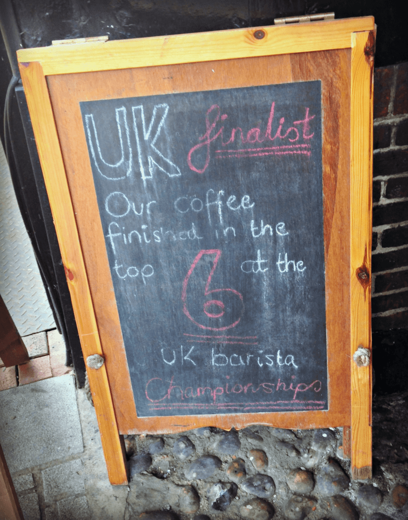 Workhouse Coffee in Reading, Review