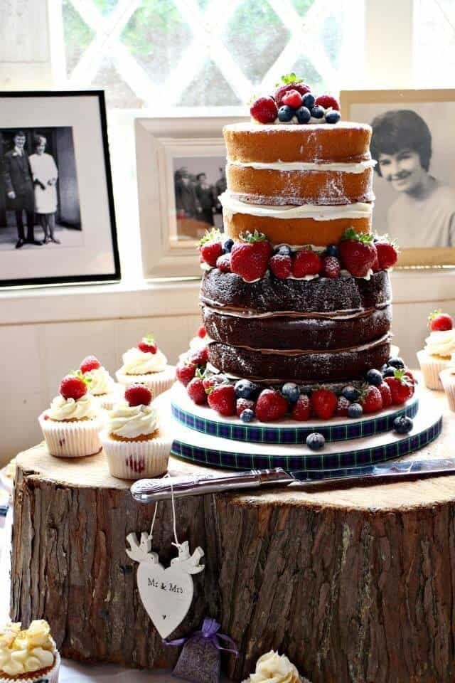 Tips for a Perfect Naked Cake